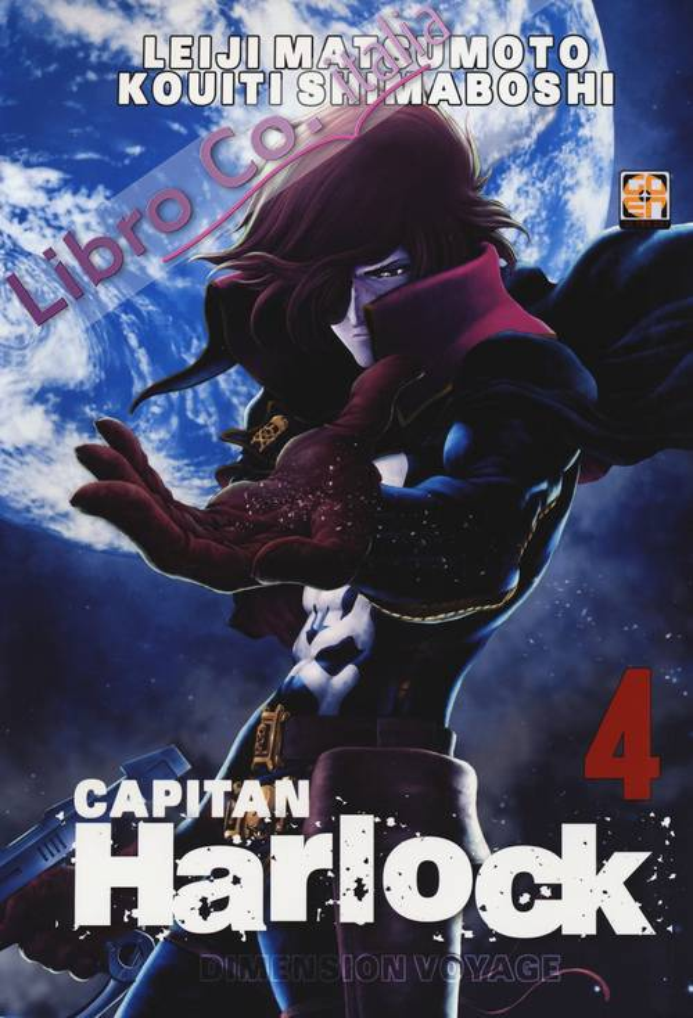 Dimension voyage. Capitan Harlock. Vol. 4