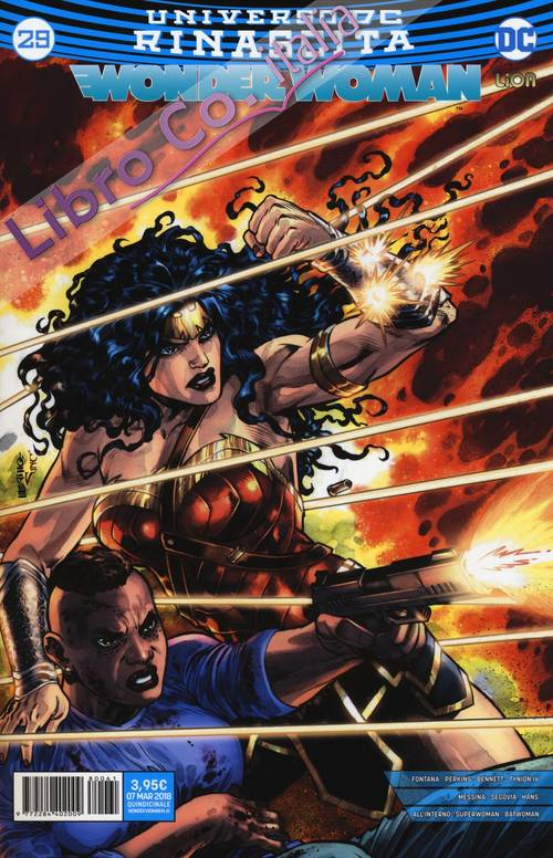 Rinascita. Wonder Woman. Vol. 29