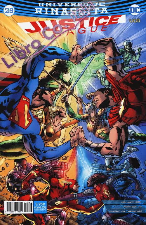 Rinascita. Justice League. Vol. 25