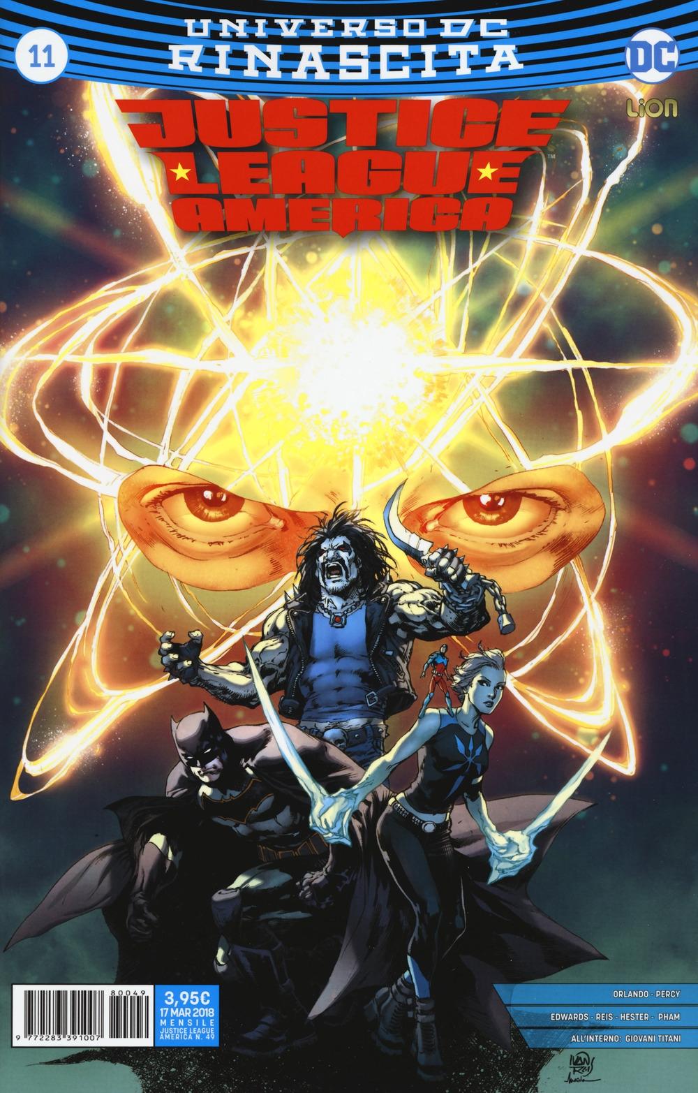 Rinascita. Justice League America. Vol. 11