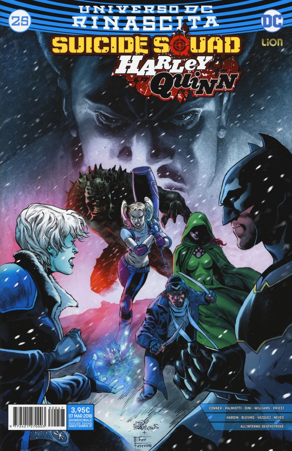 Rinascita. Suicide Squad. Harley Quinn. Vol. 25