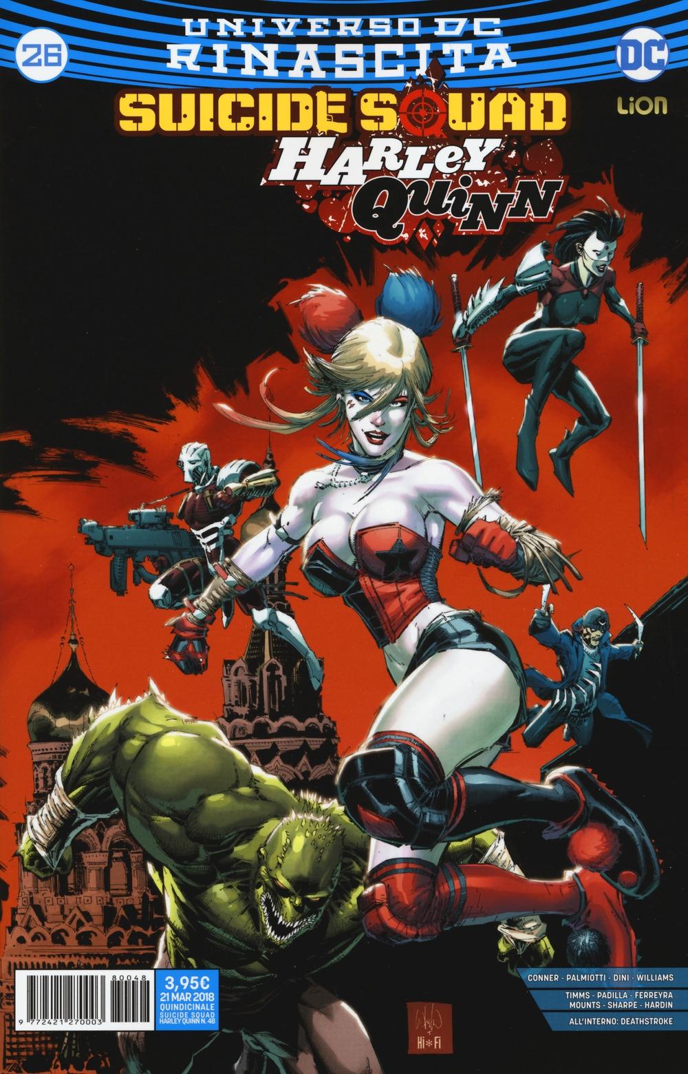 Rinascita. Suicide Squad. Harley Quinn. Vol. 26
