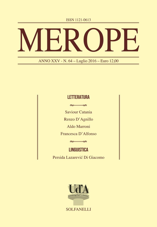 Merope. Vol. 64