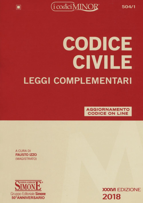 Codice civile. Leggi complementari. Con Contenuto digitale per download e accesso on line