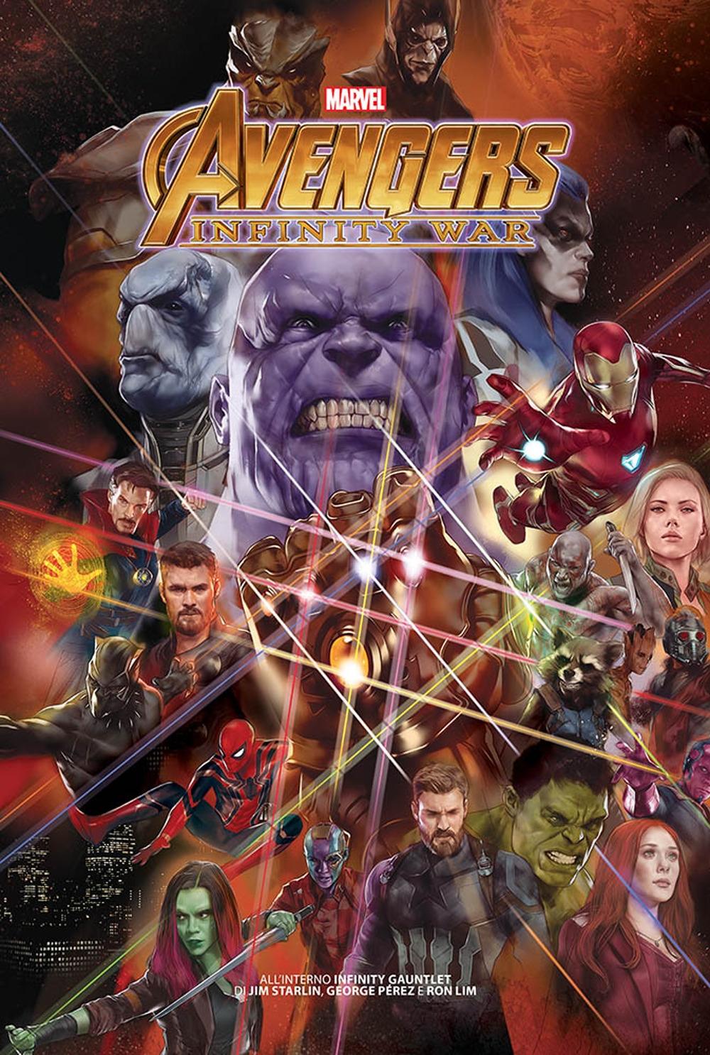 Il guanto dell'infinito. Marvel history
