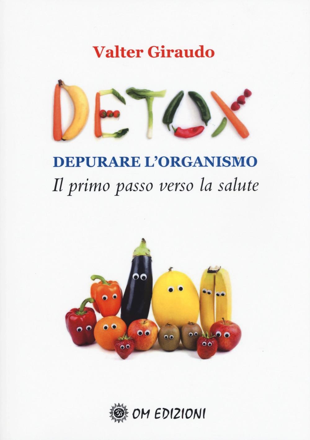 Detox depurare l'organismo. Il primo passo verso la salute.