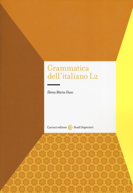 Grammatica dell'italiano L2