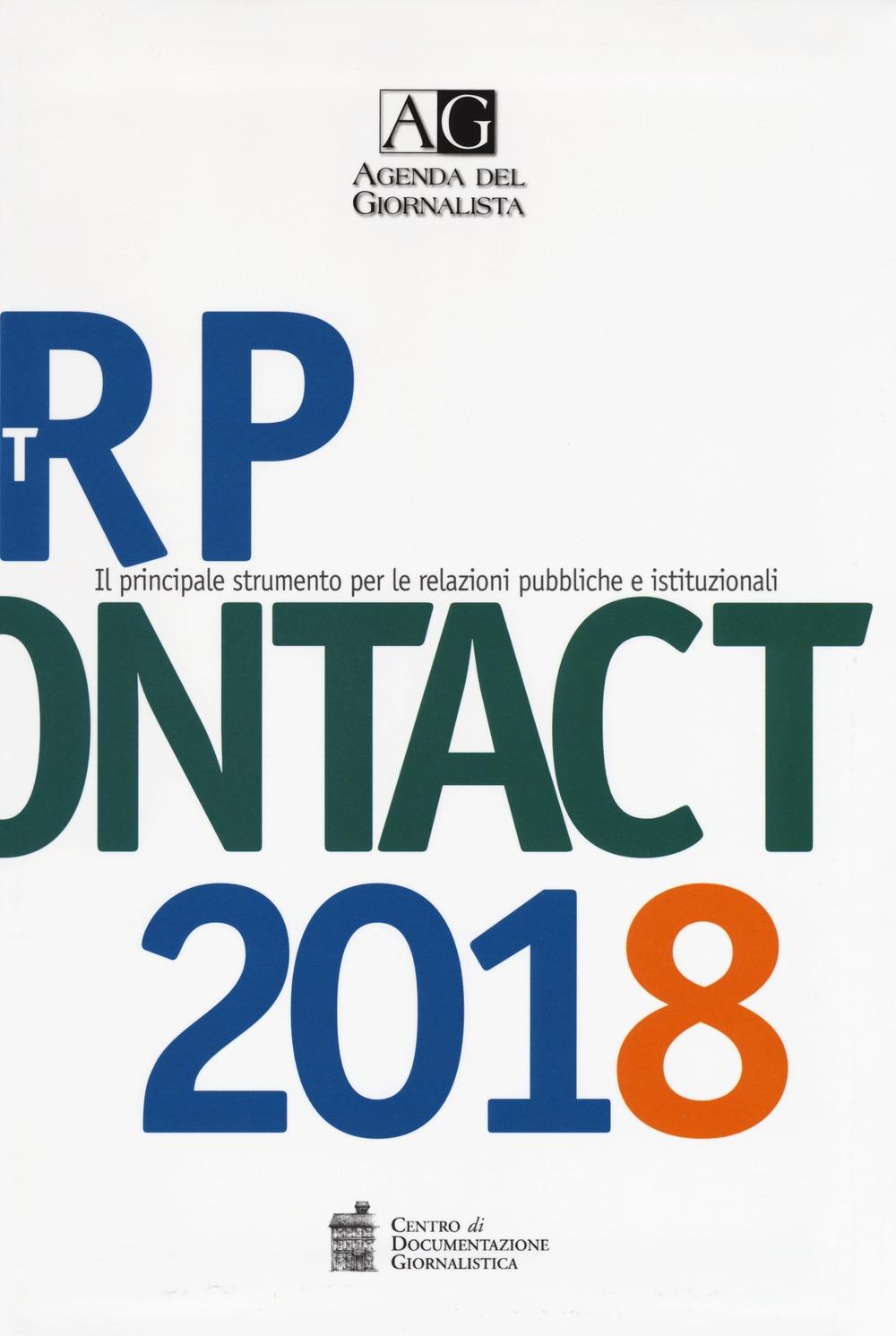 Agenda del giornalista 2018. Rp contact