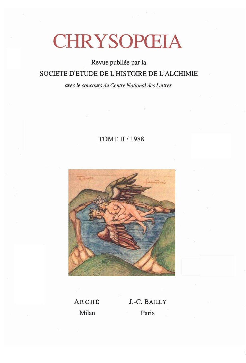 Chrysopoeia. Vol. 2: 1988