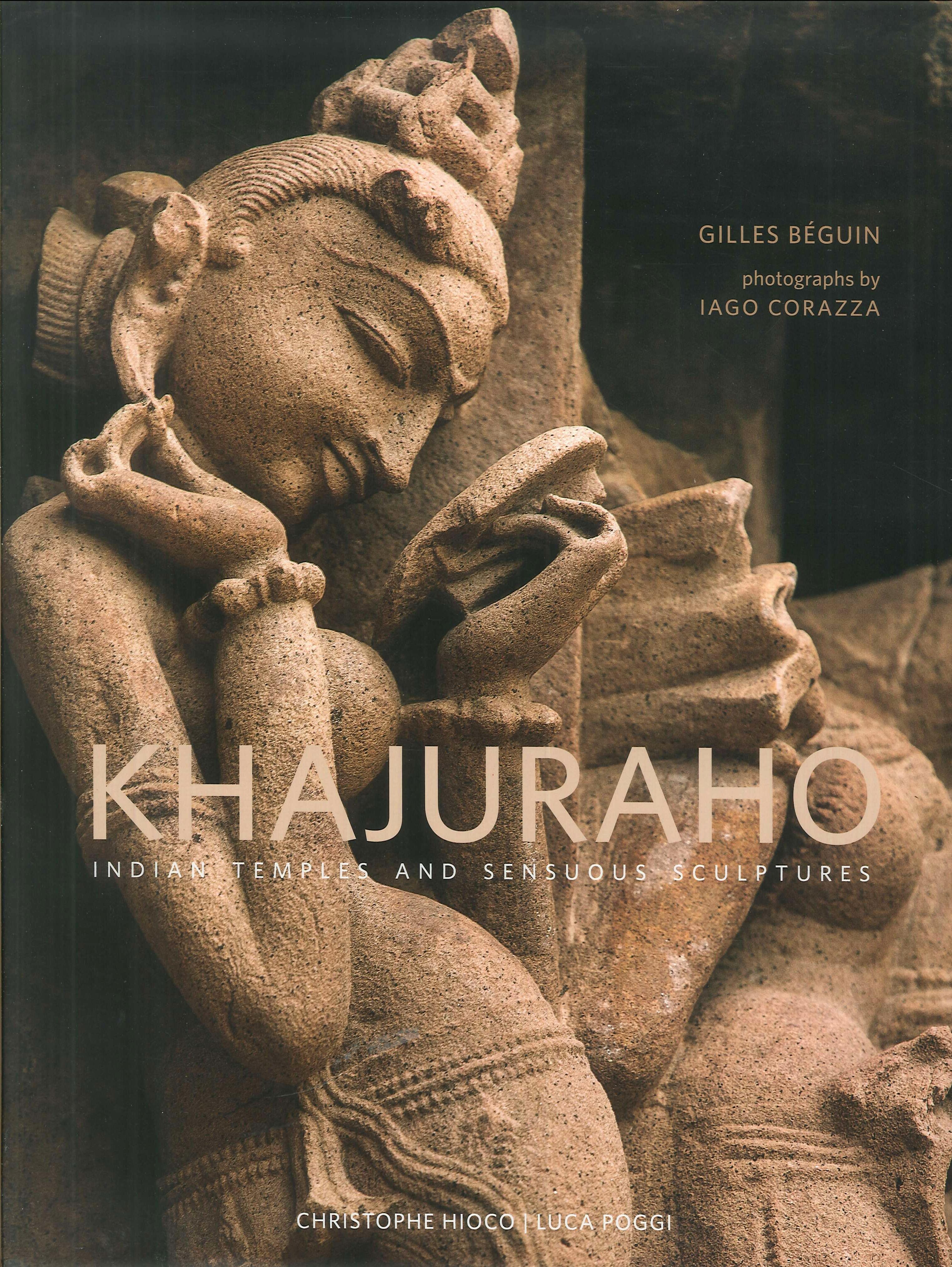 Khajuraho. Indian temples and sensuous sculptures