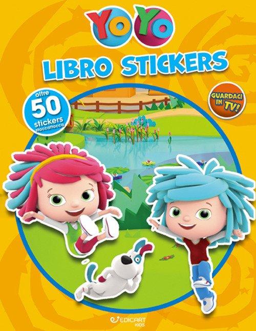 Libro stickers. YoYo. Con adesivi