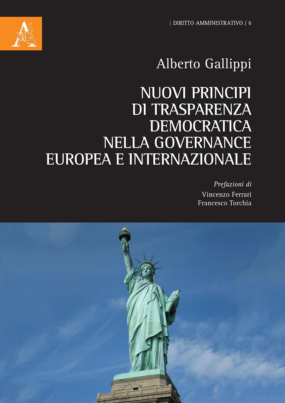 Nuovi principi di trasparenza democratica nella governance europea e internazionale
