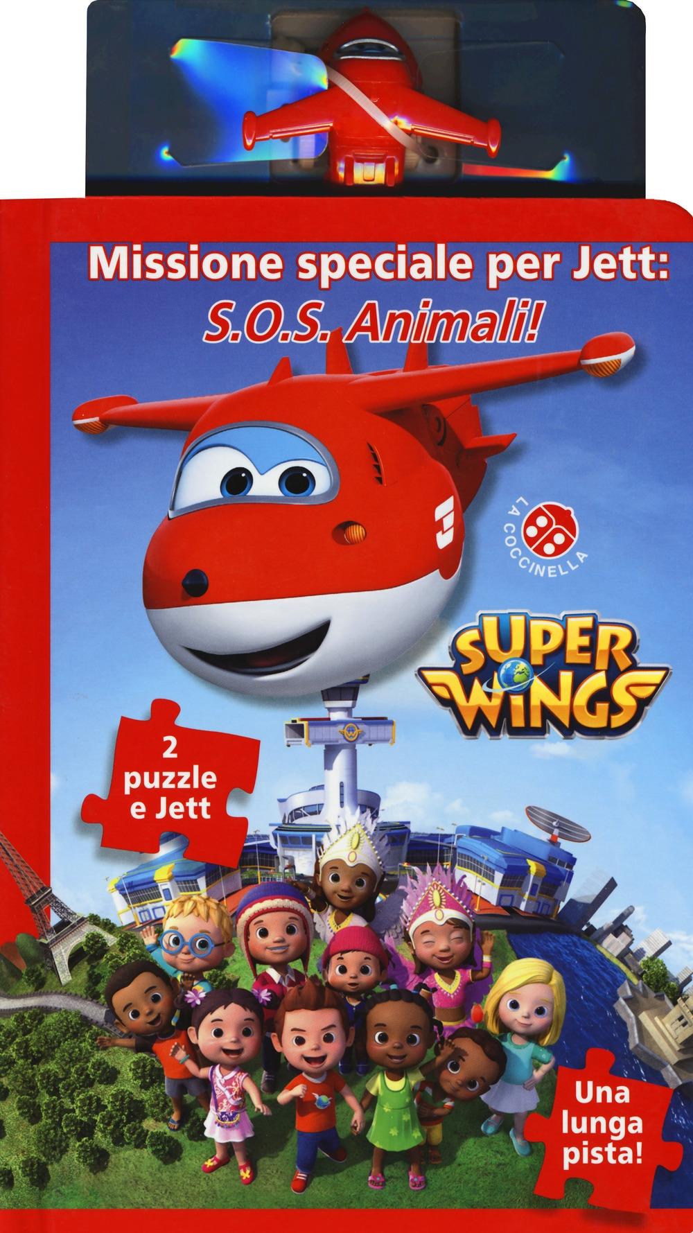 Missione speciale per Jett: S.O.S. animali! Super Wings. Ediz. a colori. Con Giocattolo