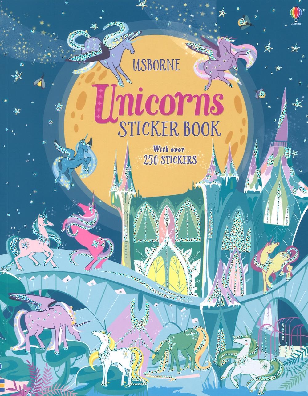 Unicorns sticker book. Con adesivi. Ediz. a colori