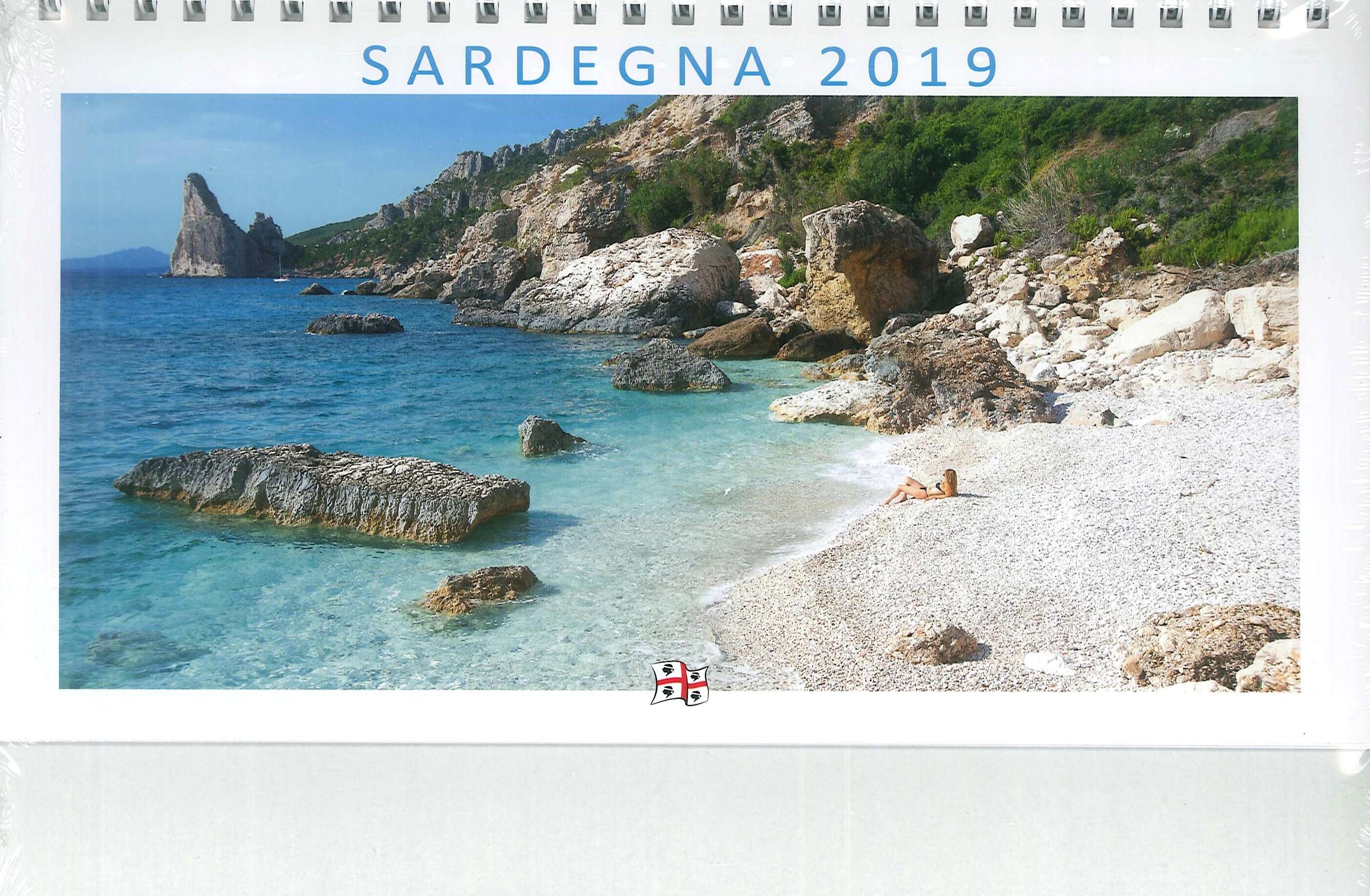 Calendario Sardegna 2019 [ Calendario Da Tavolo ].
