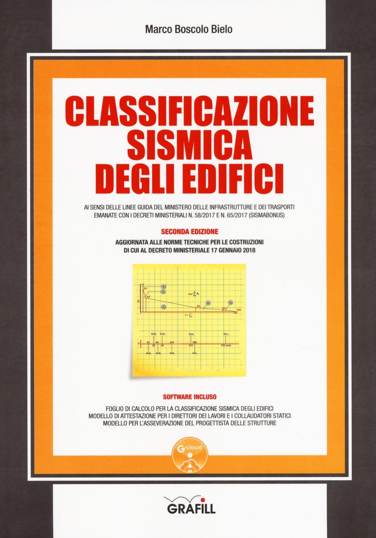 Classificazione sismica degli edifici. Con software