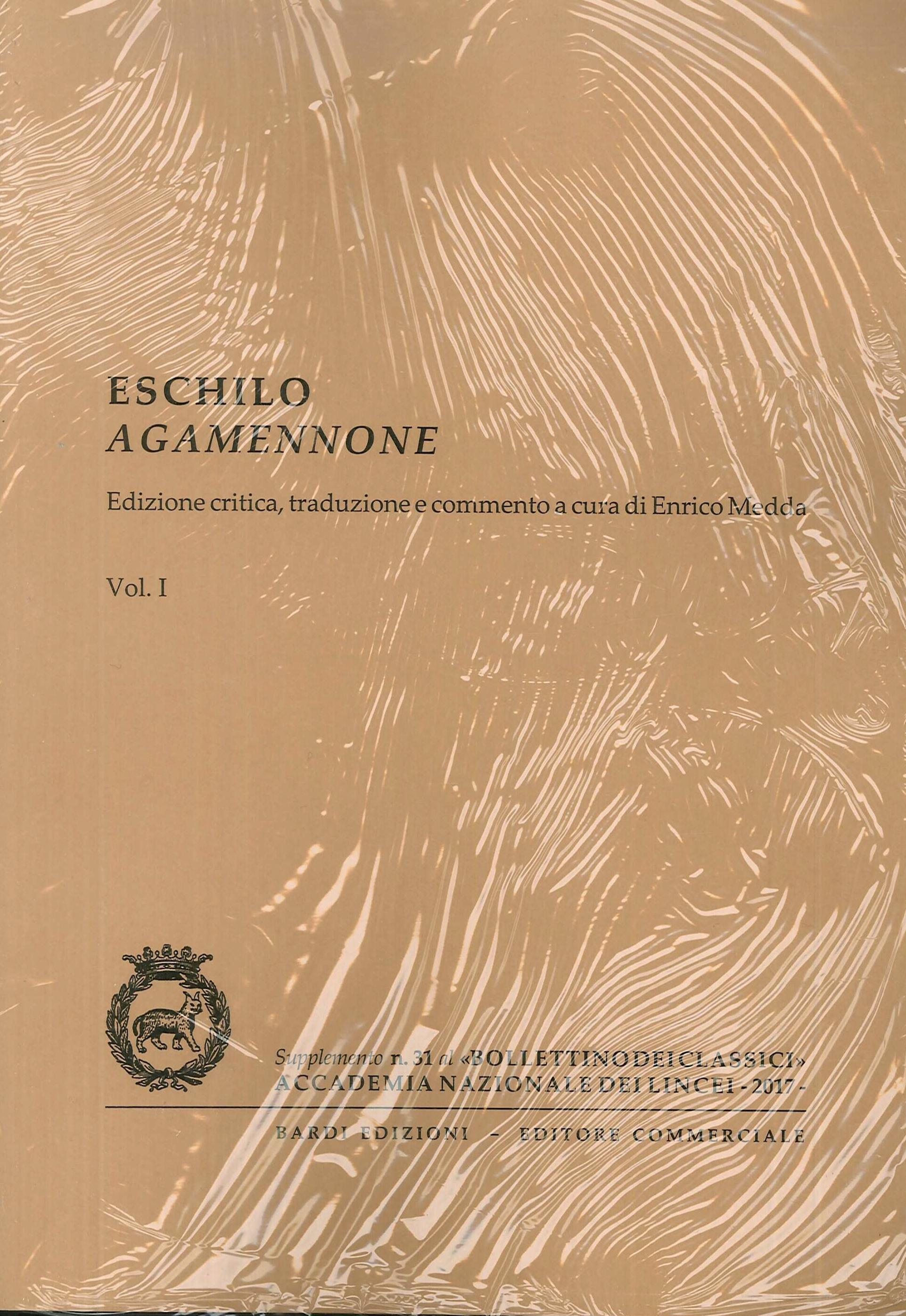 Eschilo Agamennone