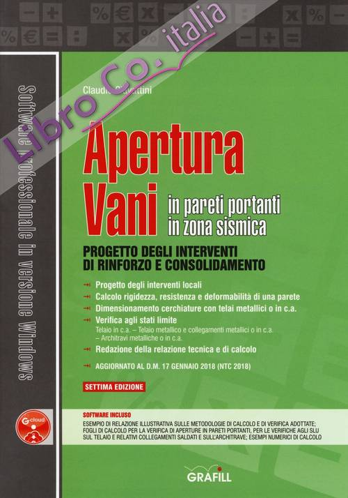 Apertura vani in pareti portanti in zona sismica. Con software