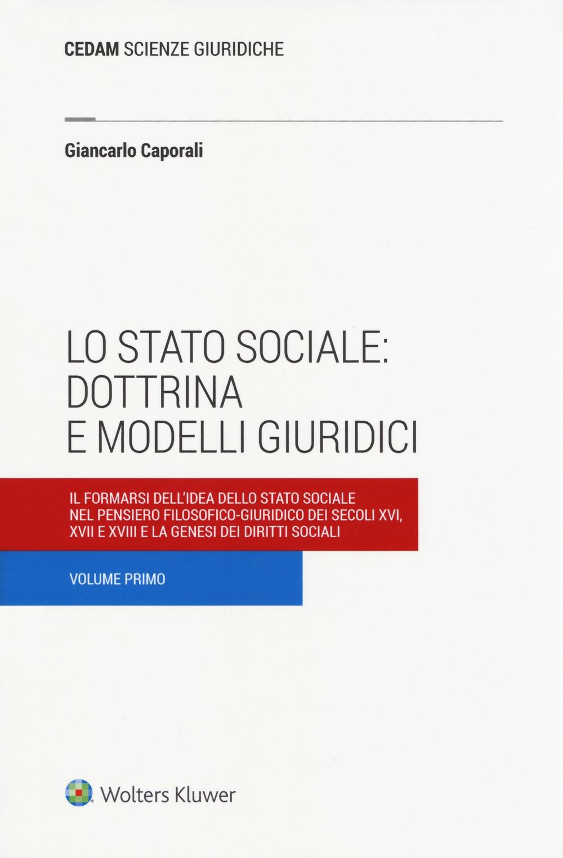 Lo stato sociale: dottrina e modelli giuridici. Vol. 1: Il formarsi dell'idea dello stato sociale nel pensiero filosofico-giuridico dei secoli XVI, XVII e XVIII e la genesi dei diritti sociali