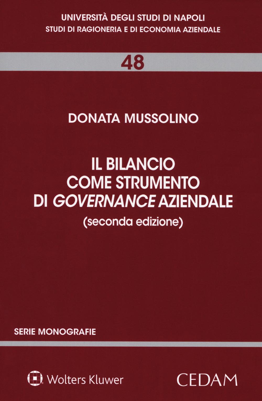 Il bilancio come strumento di governance aziendale