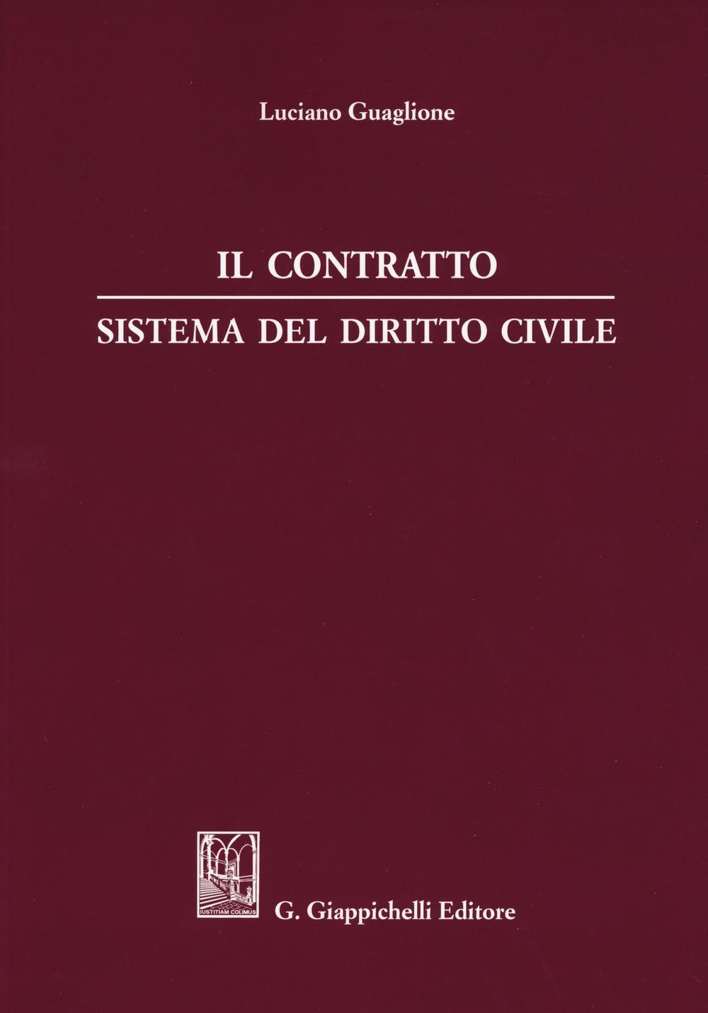 Il contratto. Sistema del diritto civile