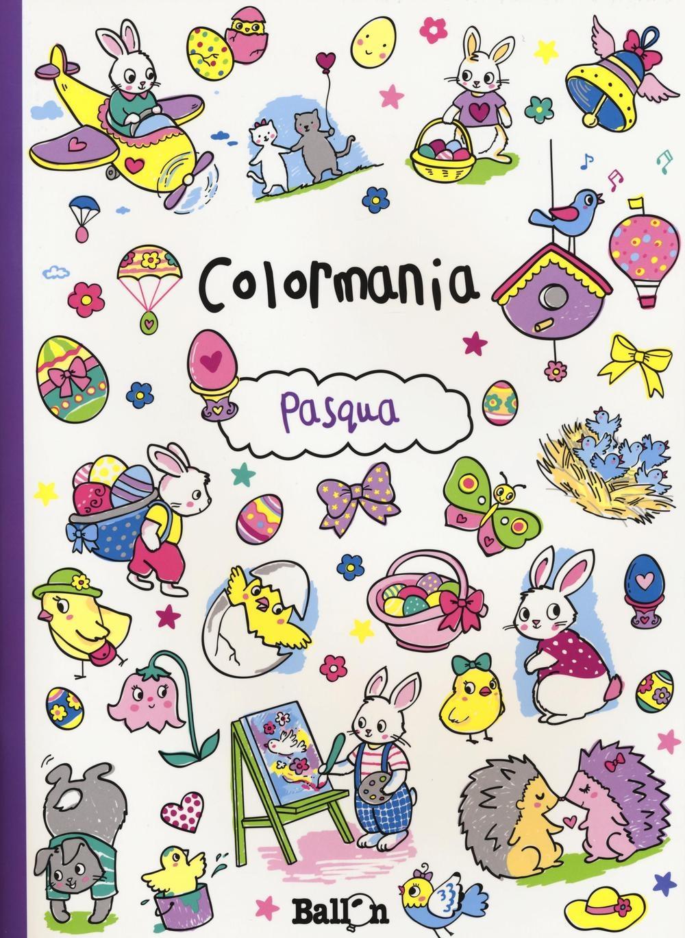 Pasqua. Colormania. Ediz. illustrata