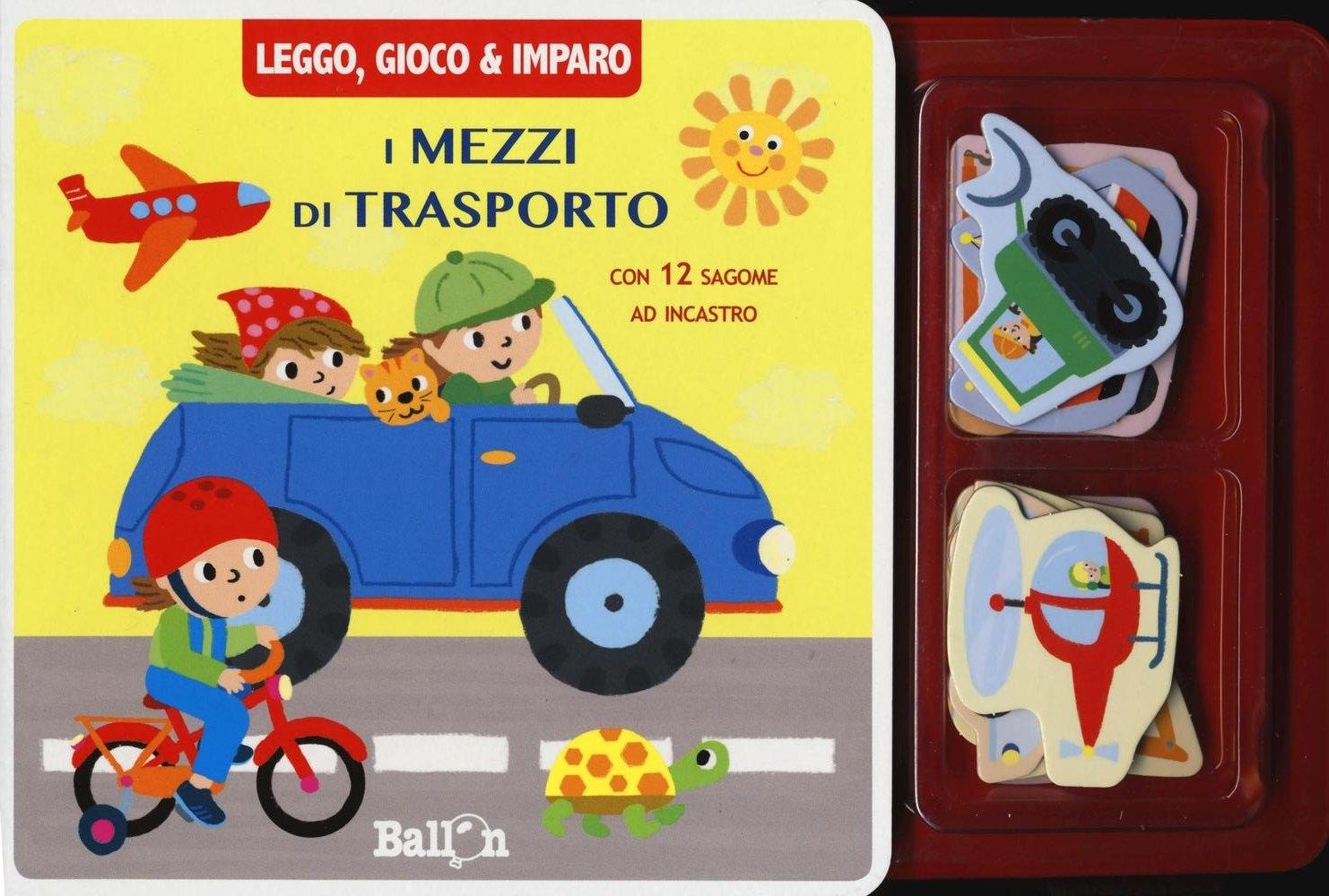 I mezzi di trasporto. Leggo, gioco & imparo. Ediz. illustrata. Con gadget