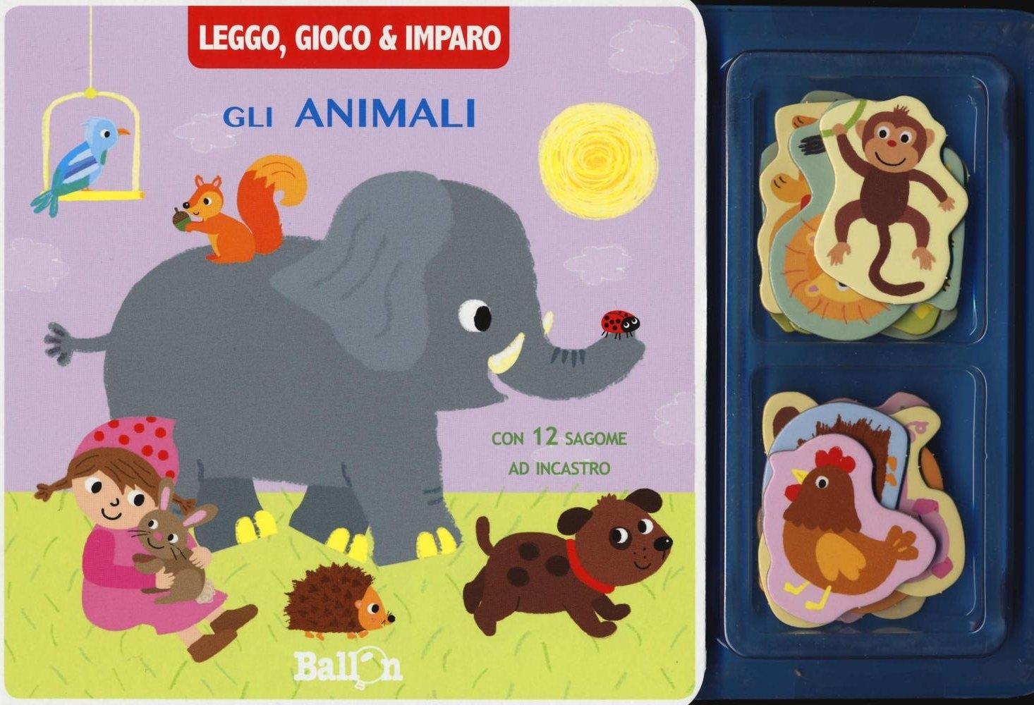 Gli animali. Leggo, gioco & imparo. Ediz. illustrata. Con gadget