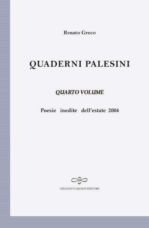 Quaderni Palesini (IV volume)