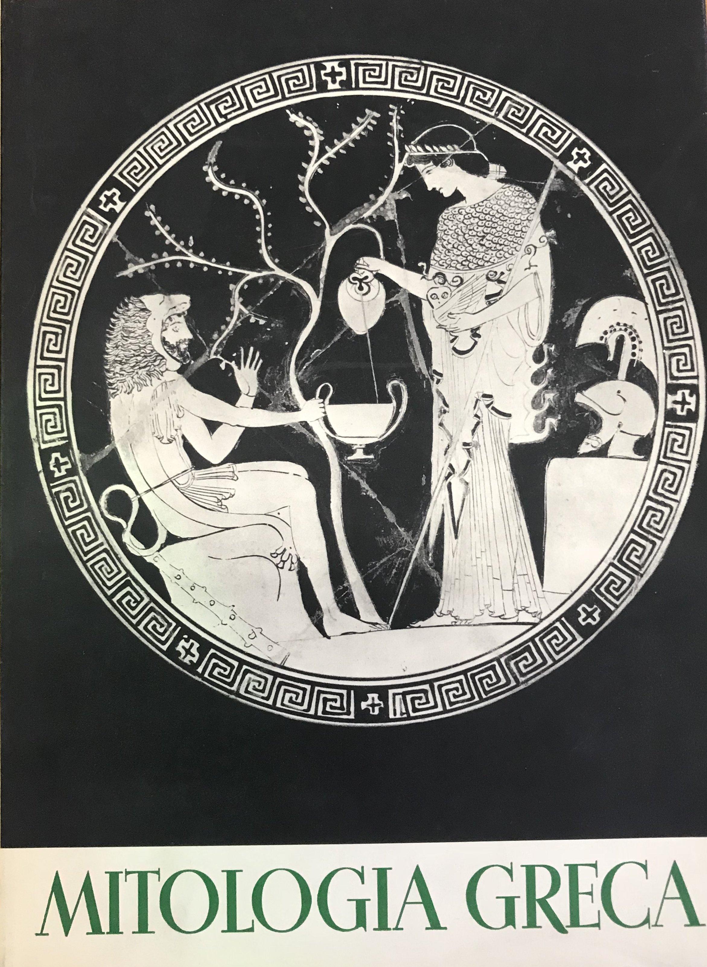Mitologia greca con 18 tavole in rotocalco e 502 figure nel testo