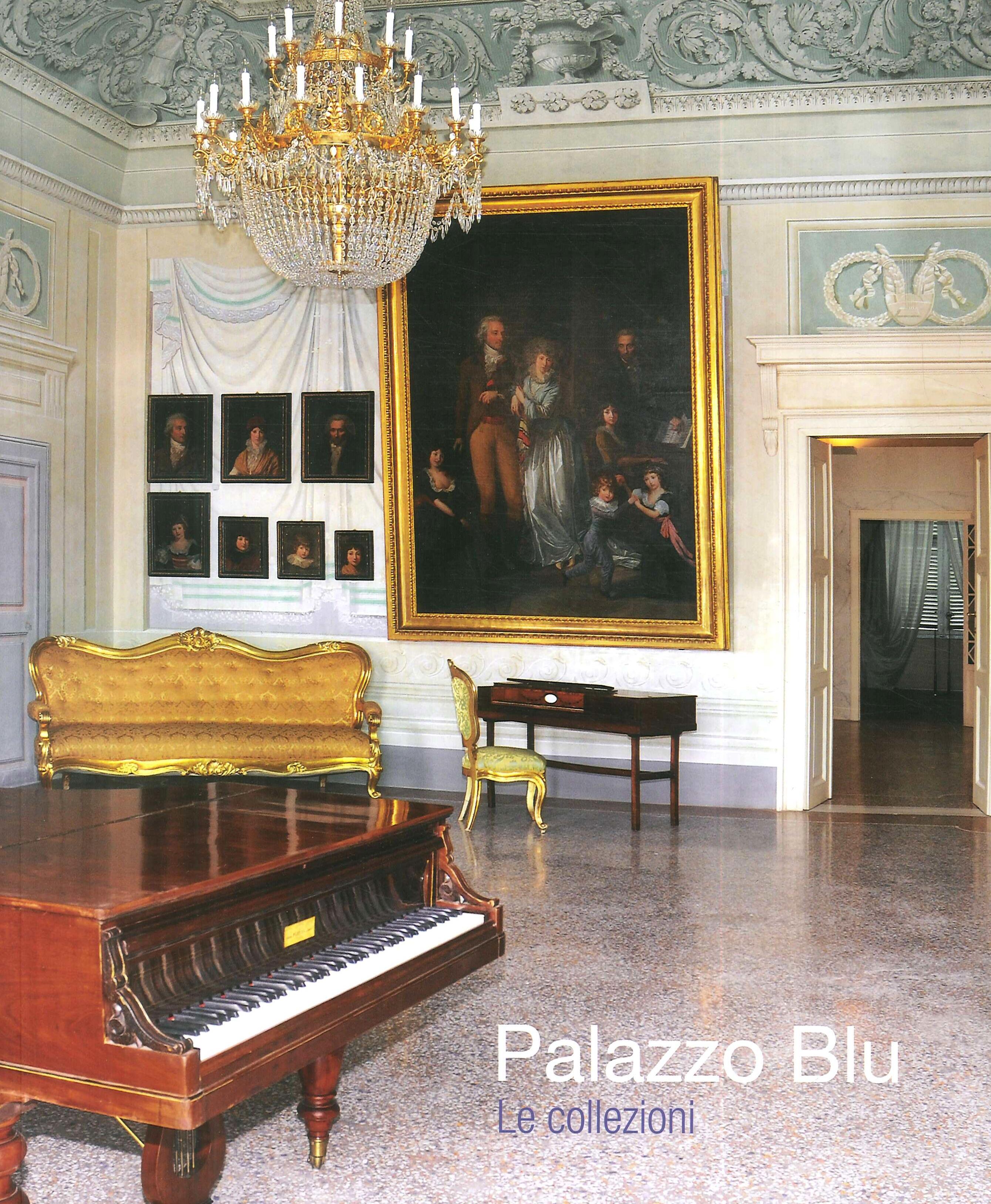Palazzo Blu. Le collezioni. Restauro d'arte e cultura