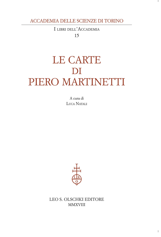 Carte di Piero Martinetti