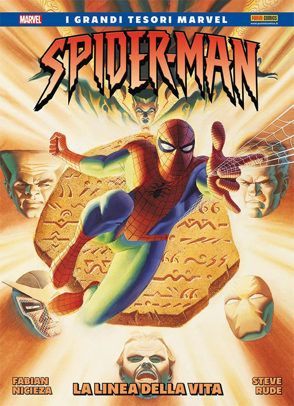 La linea della vita. Spider-Man