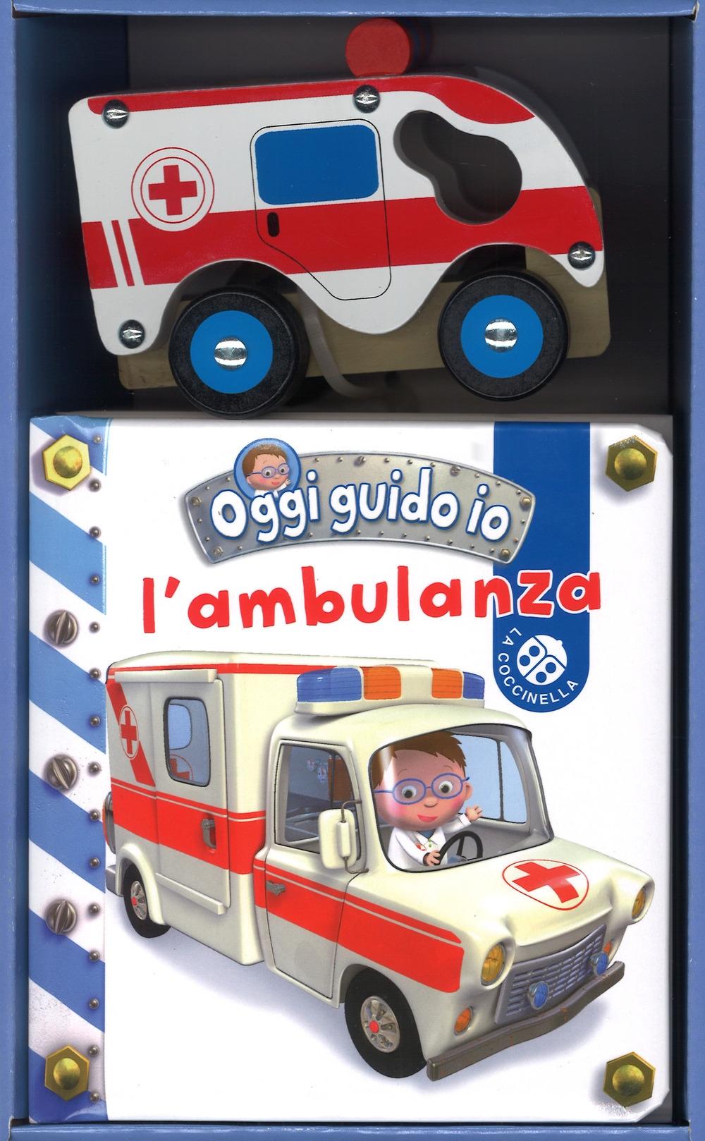 L'ambulanza. Oggi guido io. Con Giocattolo