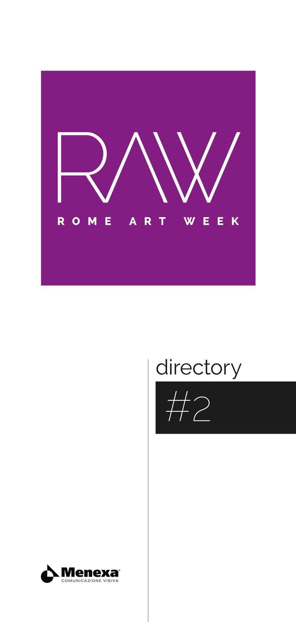 Rome art week directory. Ediz. italiana e inglese. Vol. 2