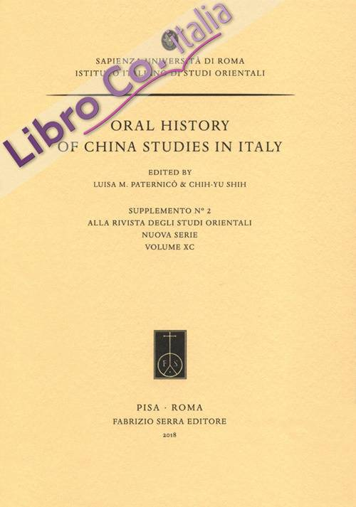 Oral History of China Studies in Italy