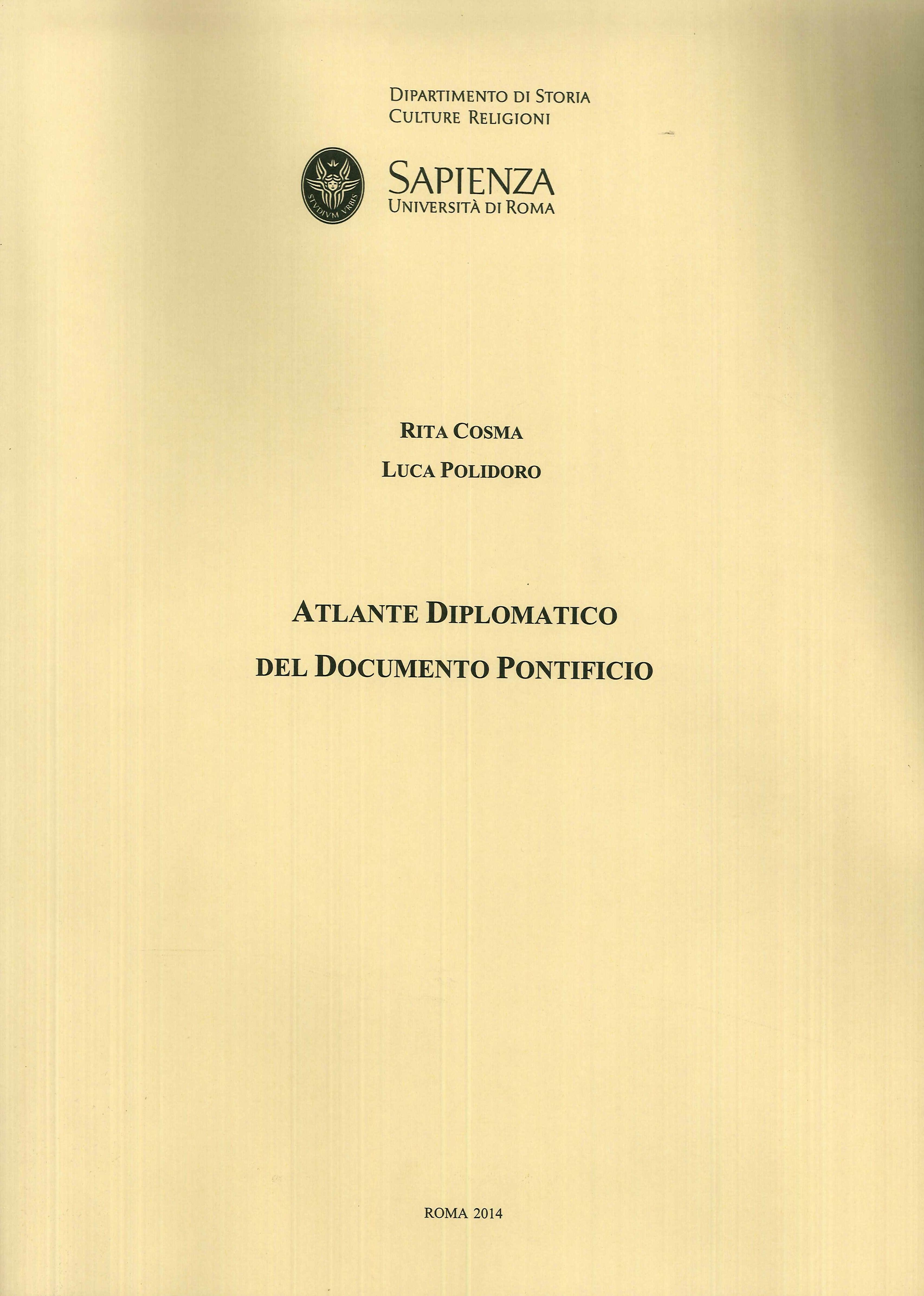 Atlante Diplomatico del Documento Pontificio