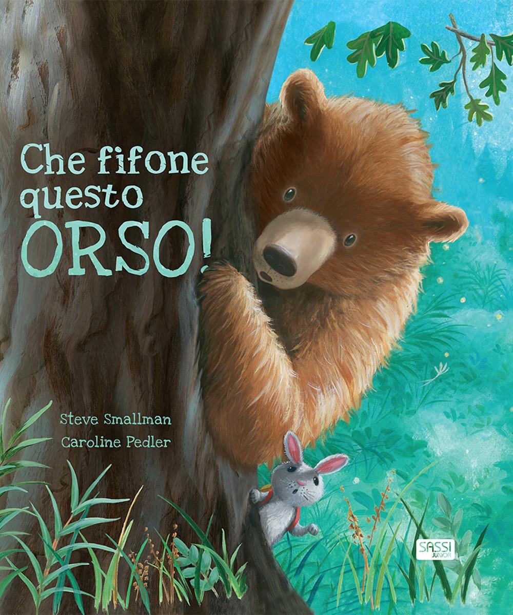 Che fifone questo orso!