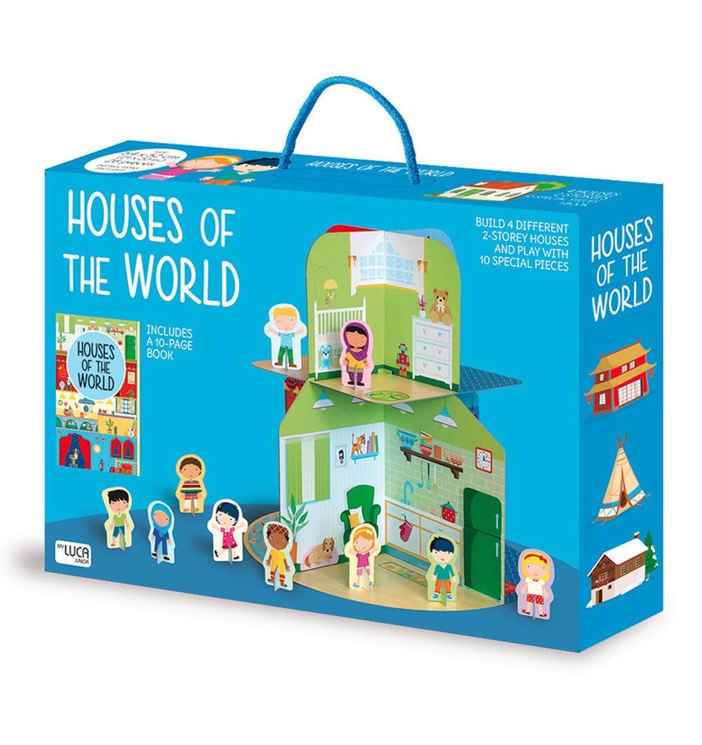 Houses of the world. Ediz. illustrata. Con gadget