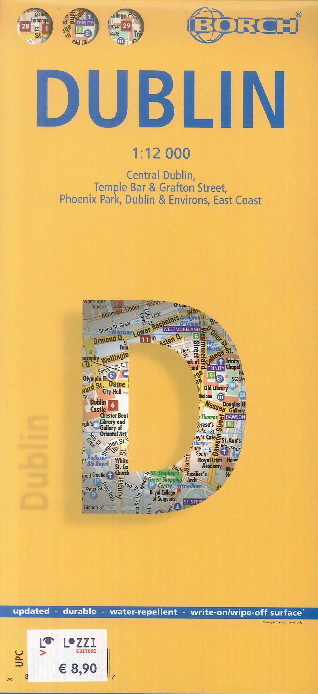 Mappa Borch Dublino