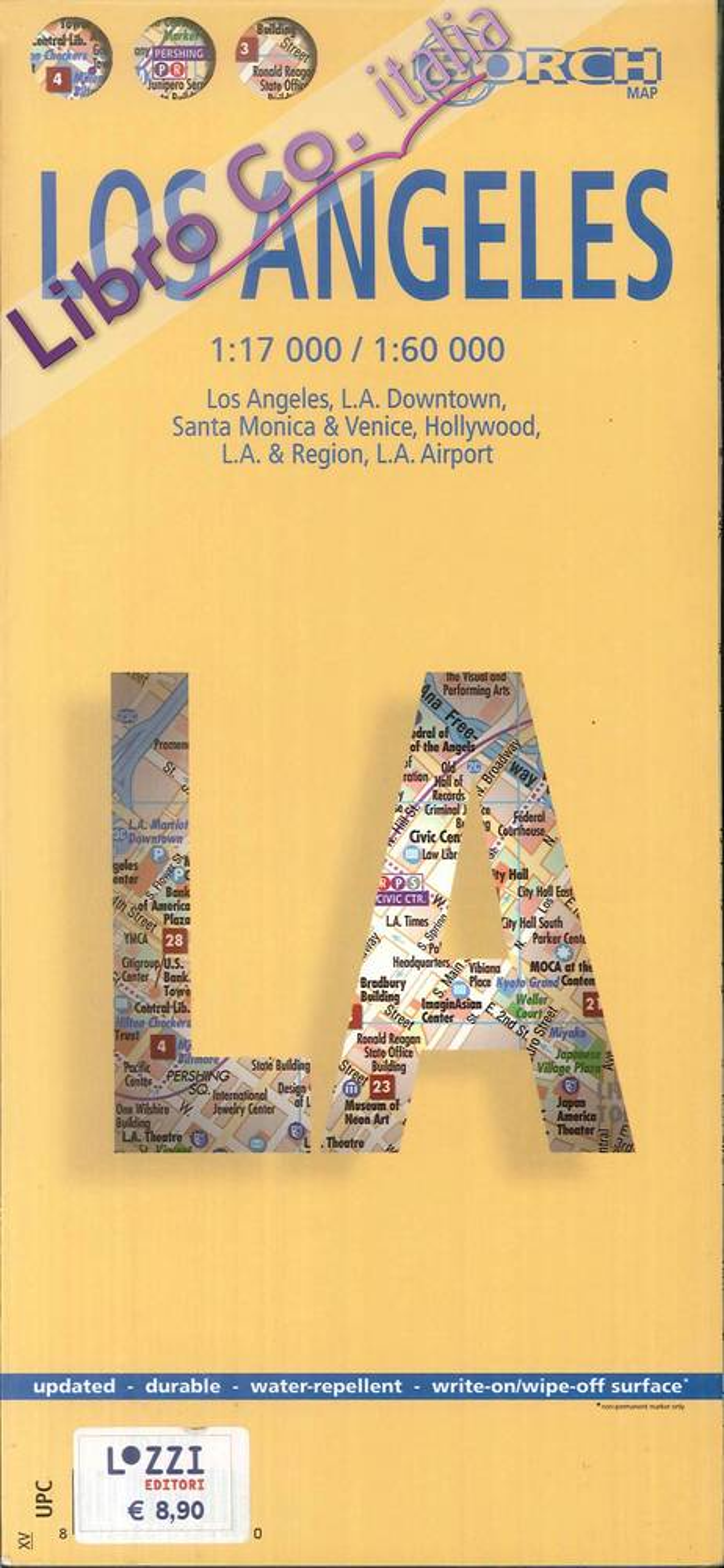 Los Angeles 1:17 000/1:60 000