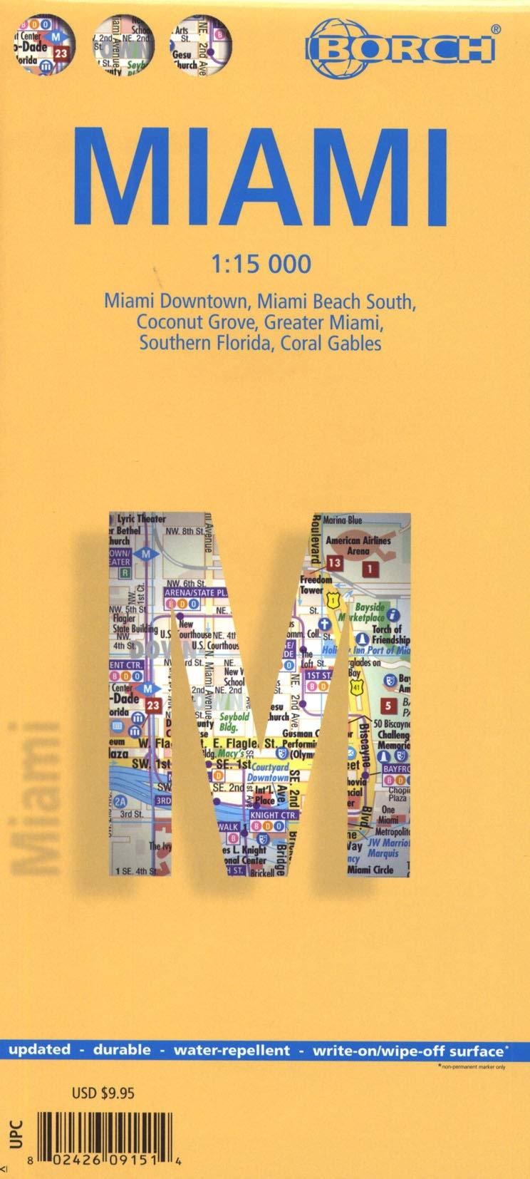 Miami. Map 1:15 000