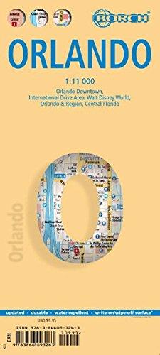Orlando. Map 1:11 000
