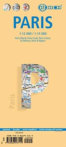 Paris. Map 1:12 000 / 1:15 000