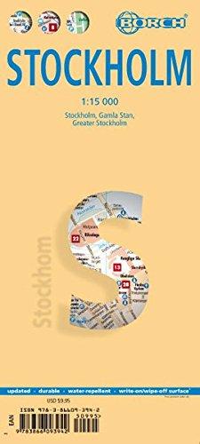 Stockholm. Map 1:15 000
