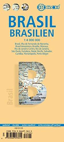 Brazil, Brasil, Brasilien. Map 1:4 000 000