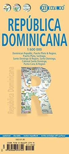 Dominican Republic. Republica Dominicana. Map 1:600 000