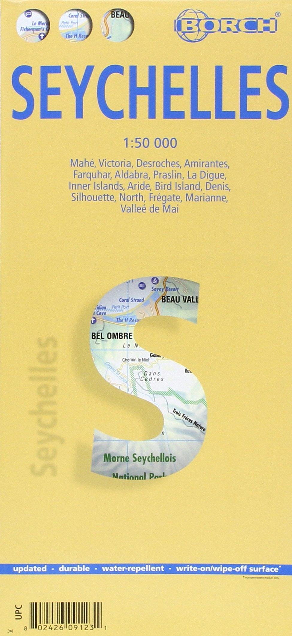 Mappa Borch Seychelles