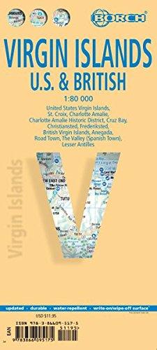 Virgin Island. Map 1:80 000