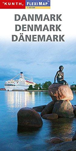 Danmark, Denmark, Danemark. Map 1:350 000
